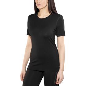 Odlo Natural 100% Merino Warm Crew Neck SS Shirt Women black